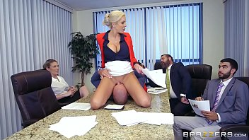 Things Get Weird Thanks To Hot Milf Nina Elle's Horny Mood And Big Tits 7 Min