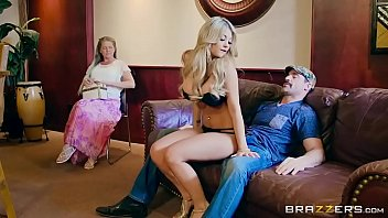 Lucky Guy Fucks Hot Blonde Kayla Kayden's Beautiful Asshole Next To His Wife 7 Min