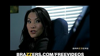 7 Min Slutty Asian Babe Asa Akira Shows Her Secretary Skills Brazzer.com