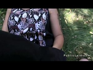 10 Min Blonde Fucking In Bushes Outdoor Pov Film