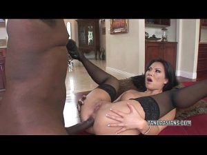 6 Min Asian Hottie Asa Akira Takes A Black Dick In Her Ass Bangbros.com Video