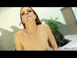12 Min Cum For Cover Getting Her Pretty Face Covered In Cum Porndig.com
