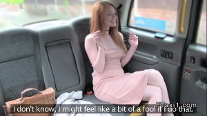 6 Min Redhead Girl Sucks Dick And Fucks In Faketaxi Free Ride