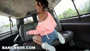 5 Min Petite Chick BangBus Real Public Hardporn With Money Banged