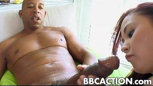 7 Min Asian Slut Sucks Big Black Cock Porn Video