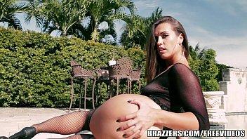 Brunette Babe Kelsi Monroe Gets Analyzed By The Pool Brazzer.com 7 Min