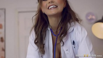 Sexy Nurse Tina Kay Takes His Dick Between Her Tits 7 Min