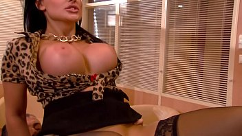 Aletta Ocean Getting Fuck In The Ass At The Office